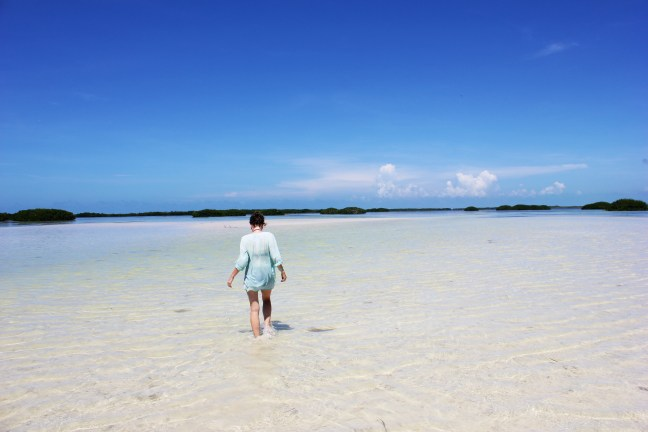 Secret beach Isla Holbox Mexico - Charlie on Travel