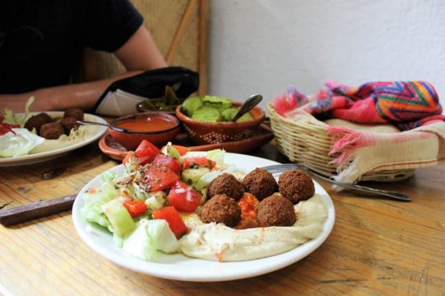 san-cristobal-de-las-casas-mexico-vegetarian-lunch-falafel-charlie-on-travel