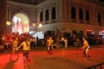 Mayan ball game in Merida