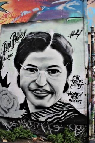 Rosa Parks mural