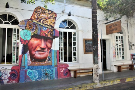 Big Sur Cafe Organico in La Paz Mexico