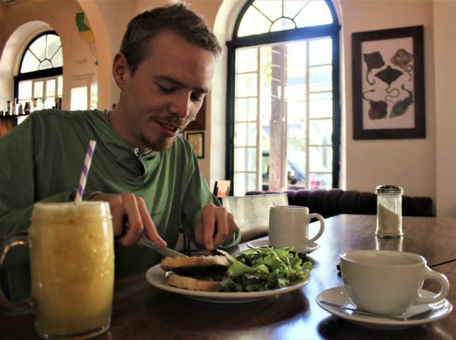 La Paz Mexico Big Sur Cafe Organico