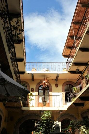 San Miguel de Allende Mexico - courtyard - Charlie on Travel