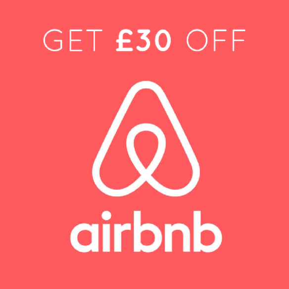 Get £13 Off Airbnb