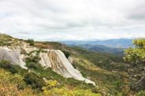 Hierve el Agua Oaxaca Mexico green landscape - Charlie on Travel