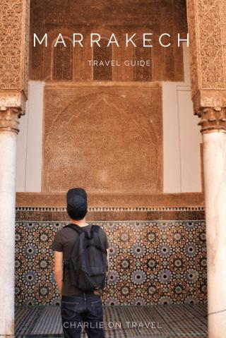 Marrakech Weekend Travel Guide Pinterest