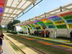 The Tram Stations in GZ... so pretty!
