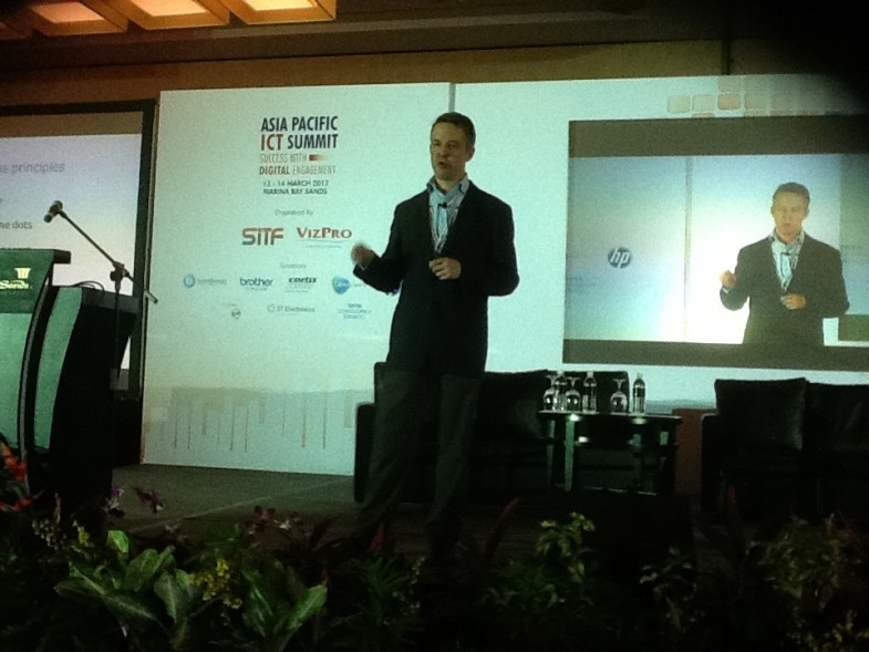 ll speaking at the Asia-Pacific ICT Summit 2012, Singapore