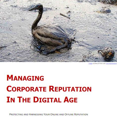 Corporate Reputation in the Digital Age white paper