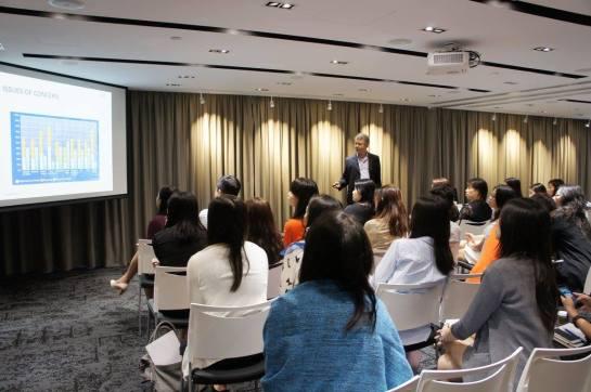 Charlie Pownall speaking at SPRG HK, 2017