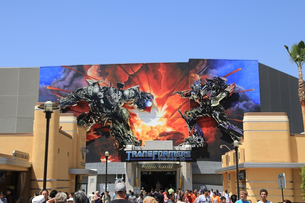 Transformers new attraction