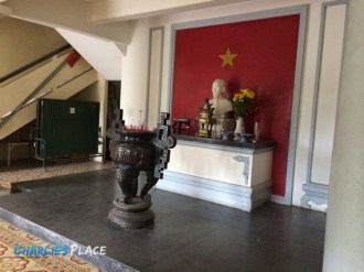A place to pay respects to Ho Chi Minh