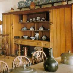 Country Style Kitchen Tables Red Rugs Edwin Lutyens Oak Arts & Crafts Movement Furniture