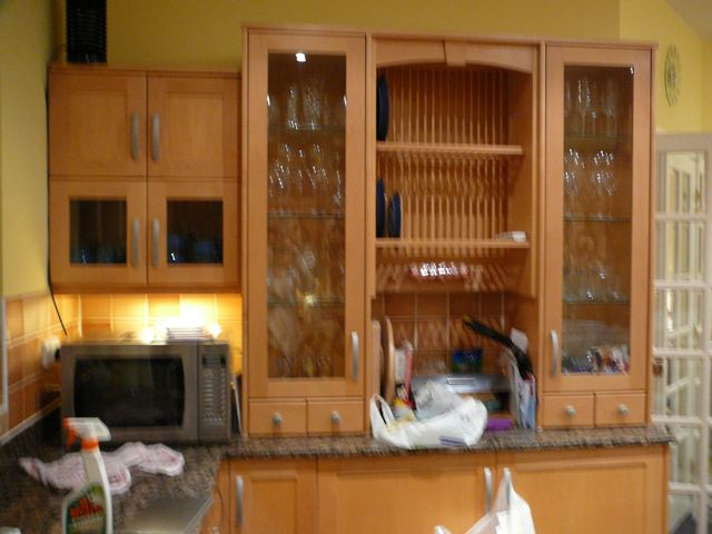 red kitchen appliances industrial equipment designer fitted in oak & gloss lacquer