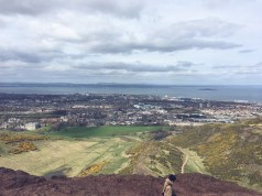 Views from atop Arthur's Seat