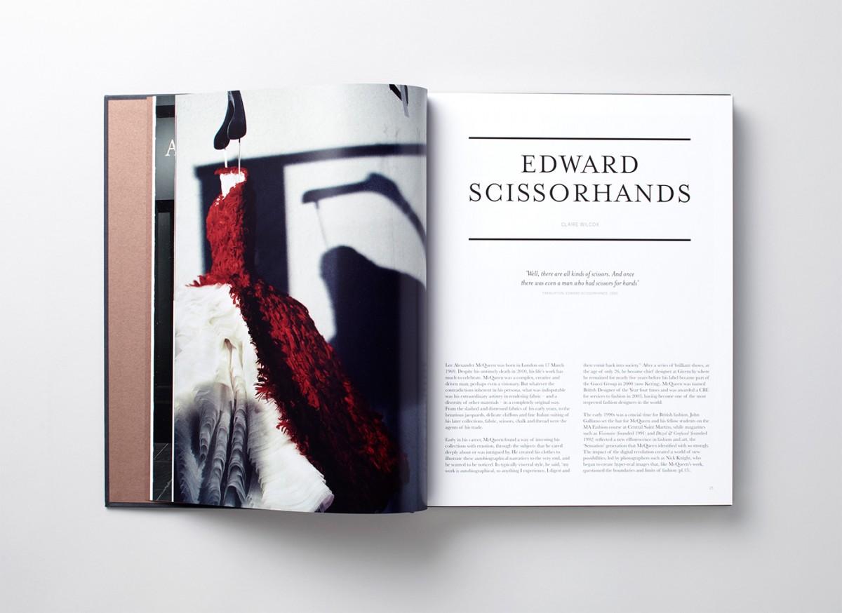 Charlie Smith Design Book Alexander McQueen