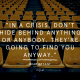 Music, Quotes & Coffee - Quote by Bear Bryan about Hiding in a Crisis
