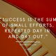 Music, Quotes & Coffee - picture of a quote by collier about success