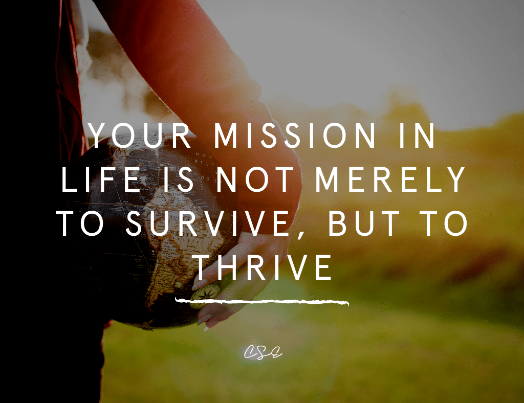 Music, Quotes & Coffee - quote about your mission in life