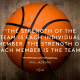 Music, Quotes & Coffee - quote by Phil Jackson about the strength of the team