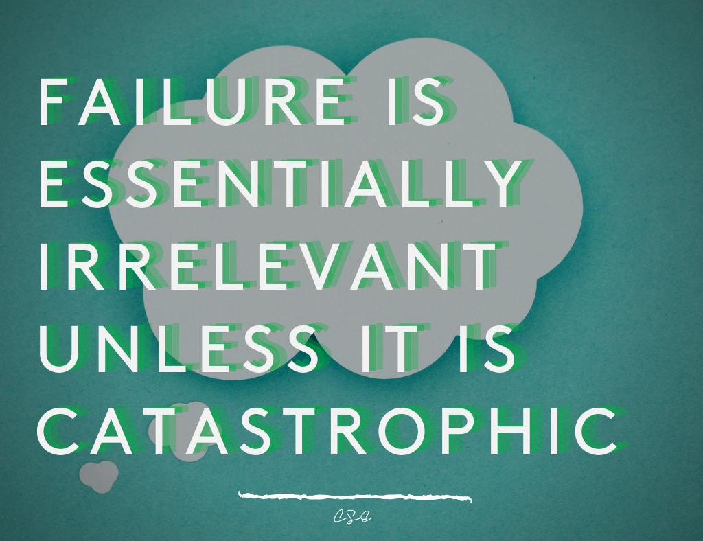 Alder Koten - Executive Search Consultant - Mexico - USA - Failure is essentially irrelevant unless it is catastrophic - Motivation - Inspiration