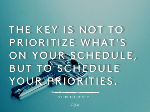 Alder Koten - Executive Search Consultant - Mexico - USA - Schedule your priorities - Motivation - Inspiration