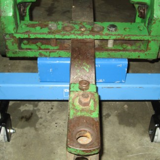Bolted to drawbar support