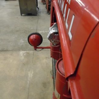 Farmall B Denso hood side shot