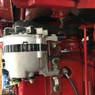 Well built mounting bracket for Hitachi alt