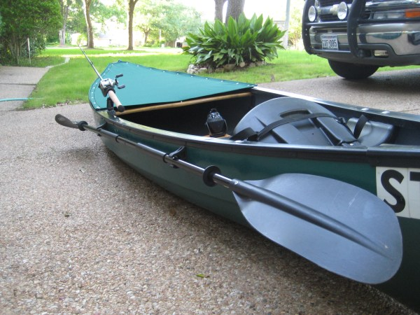 Canoe Modifications - Year of Clean Water