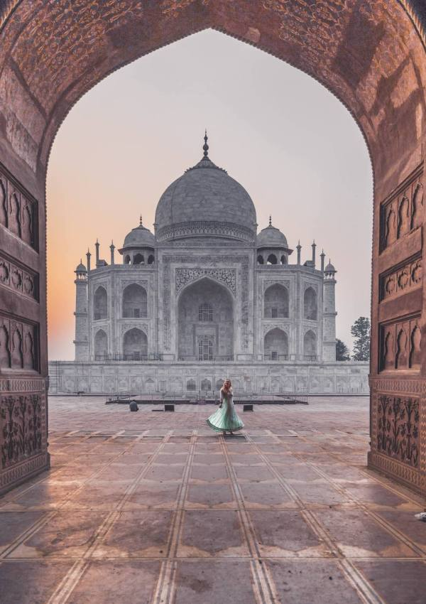 The perfect visit of the Taj Mahal