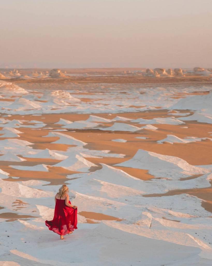 A Secret Hidden Gem in Egypt - White Desert National Park