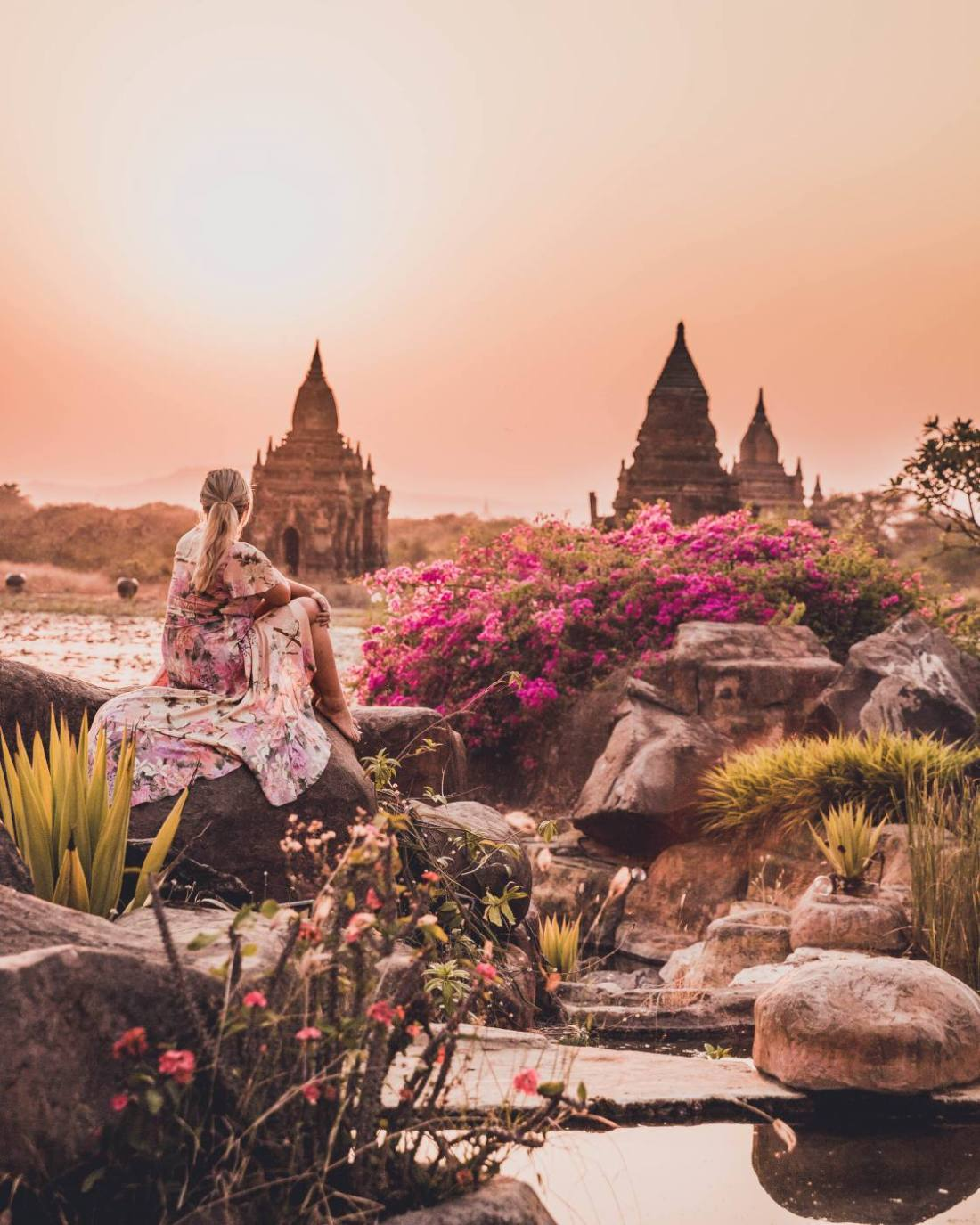 The Most Instagrammable places in Bagan, Myanmar