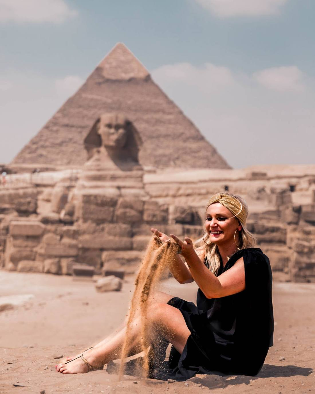2 weeks in Egypt, visiting the sphinx