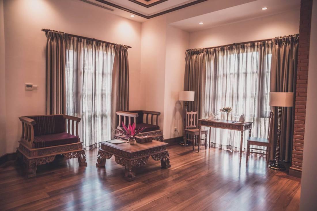 Where to stay in Bagan, Myanmar: Heritage Bagan Hotel.