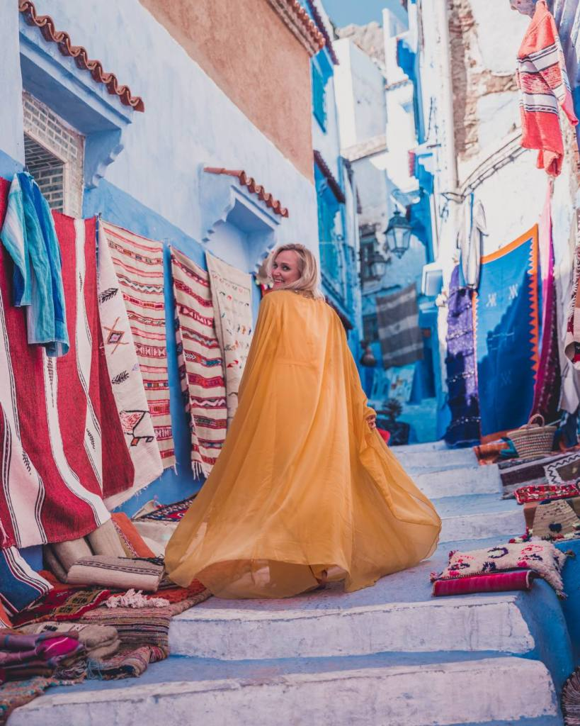 Visiting the blue pearl of Morocco