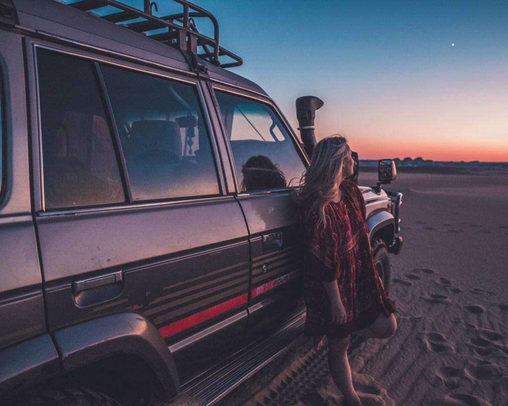white desert national park, travel egypt