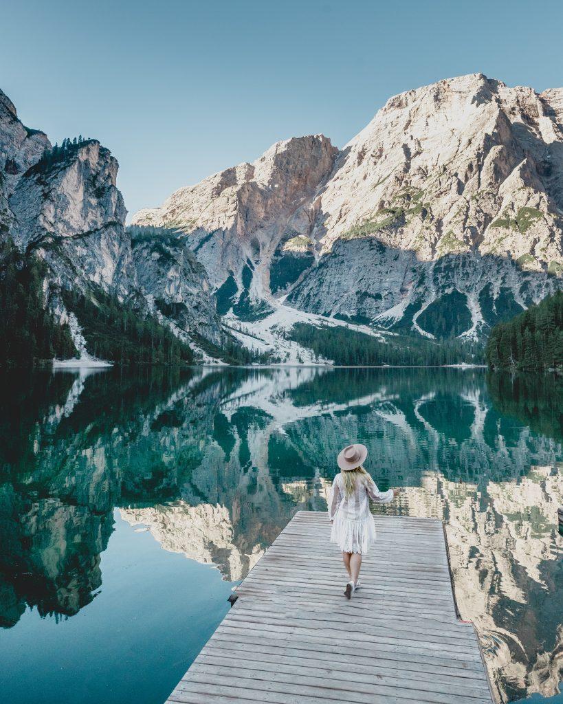Lago di Braies photography