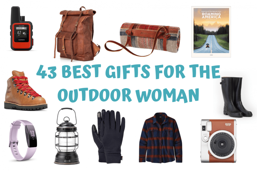 43 Best And Original Gifts For The Outdoor Woman: Gifts For Hiking, Camping, Road Trips and Photography