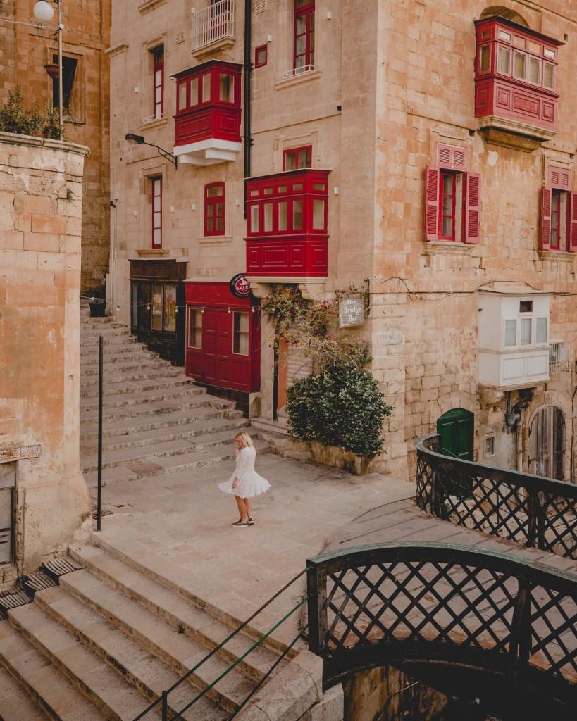beautiful streets of Valletta
