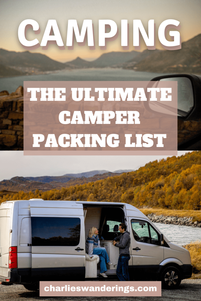 The Ultimate Camper Packing List