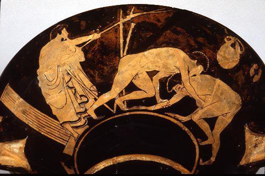 Z byka go! Roman z byka! Źródło: http://www.perseus.tufts.edu/Olympics/sports.html