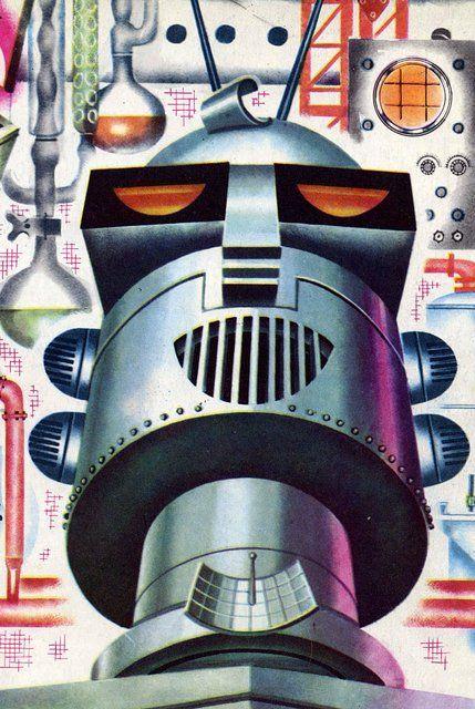 Taki tam vintydż robot. Źródło: http://www.pinterest.com/pin/132996995220285775/