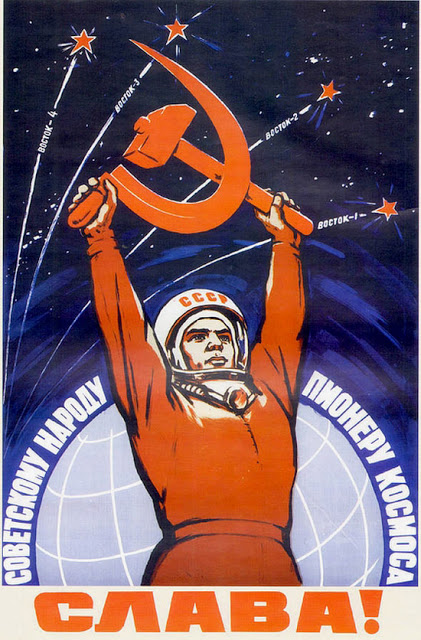 Sława! http://www.vintag.es/2012/03/propaganda-posters-of-soviet-space.html