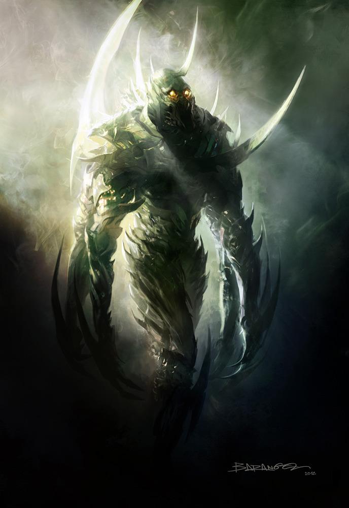 I znowu Th Shrike. Tym razem stąd: http://www.scifireaders.net/tag/the-shrike/