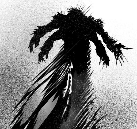 Kolejna wizja Dzierzby aka Chyżwara aka The Shrike, Lord of Pain i kotecek. Źródło: http://pennarellor.deviantart.com/art/Mare-Infinitus-355412492