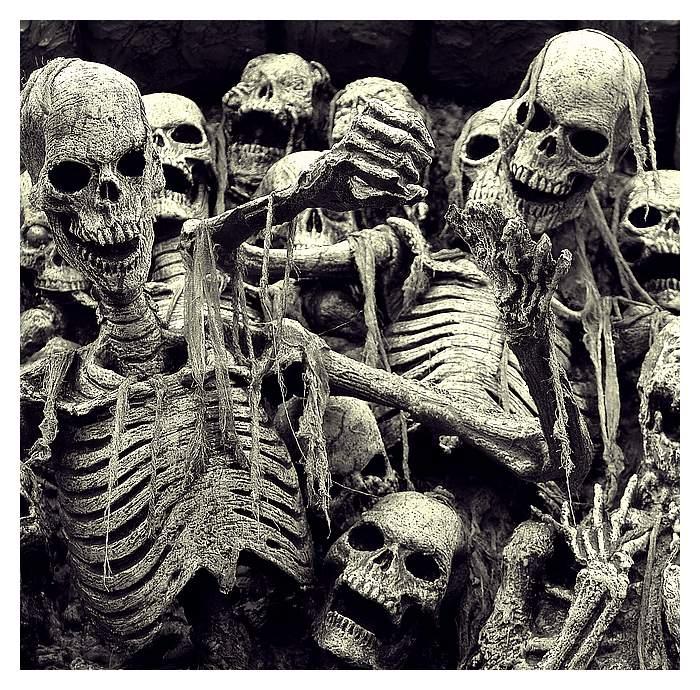 A tu takie fajne szkieleciki. Źródło: http://www.deviantart.com/art/Horror-Show-9001535