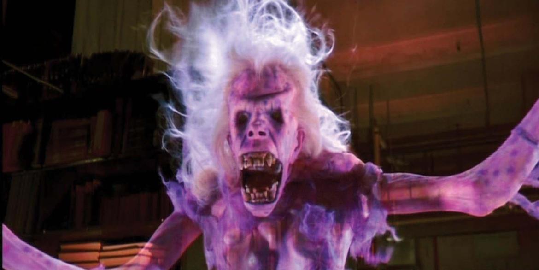 """Chyba każdy kojarzy ducha z biblioteki z filmu """"Pogromcy duchów""""? Źródło: http://www.icollector.com/Library-ghost-armature-from-Ghostbusters_i8632920"""