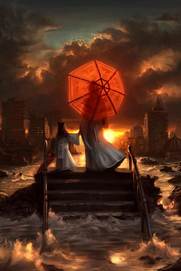 Czy koniec świata może być piękny? Źródło: http://digital-art-gallery.com/picture/gallery/post_apocalyptic