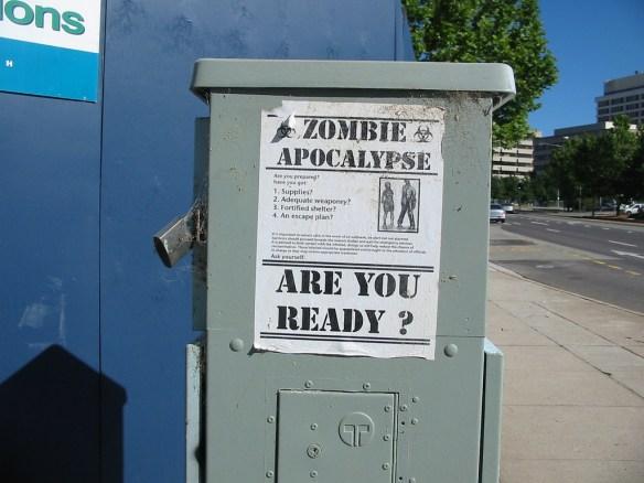 Czy jesteśmy gotowi na Zombie Apokalipsę? Źródło: https://flic.kr/p/87TeE